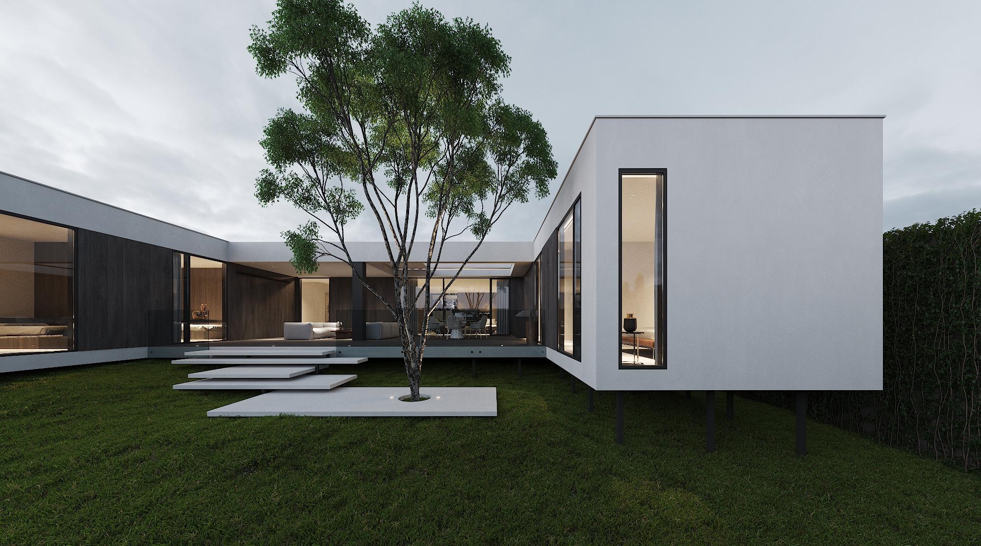 модульний будинок 240 кв.м., модульный дом 240 кв.м., module house 240 sqm.