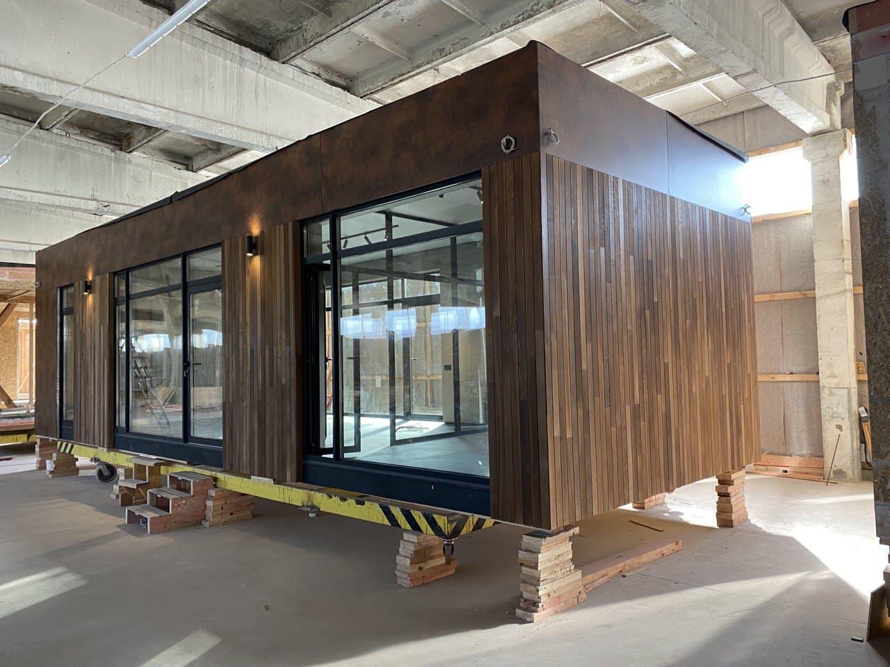 виробництво модульних будинків module house