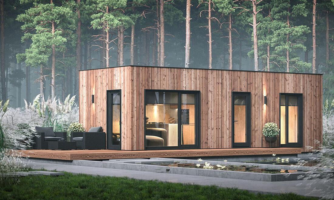 модульный дом, модульний будинок, modular house.